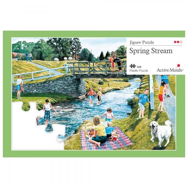 Frühlingsstrom - 35 Teile Puzzle