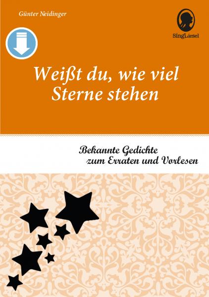 Gedichte für Senioren - Band 1 (Sofort-Download als PDF)