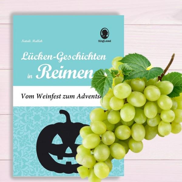 Feste im Herbst. Geschichten für Senioren mit Reimen. PDF Titel