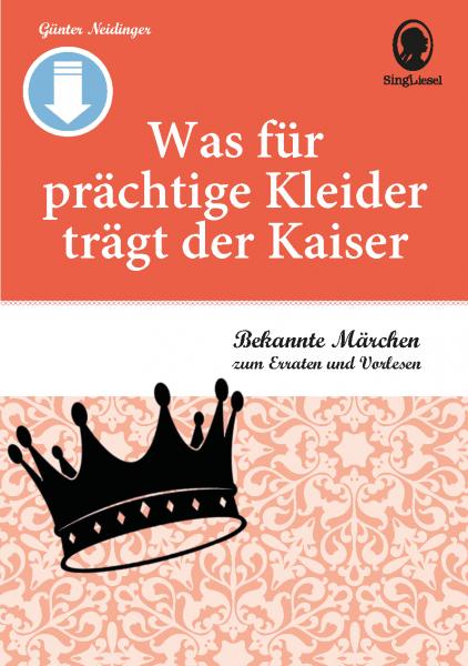 """Märchen für Senioren. """"Aschenputtel"""" u.v.m. (PDF) Titel"""