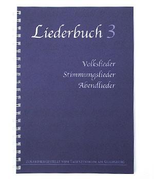 Liederbuch Volkslieder, Stimmungslieder und Abendlieder (Bd. 3)