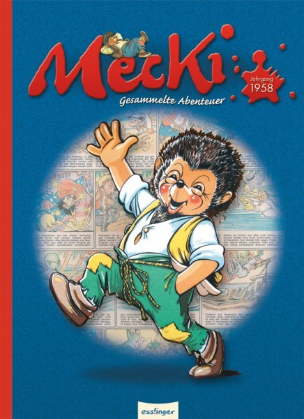 Mecki - Gesammelte Abenteuer Jahrgang 1958