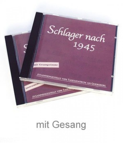 CD Schlager nach 1945