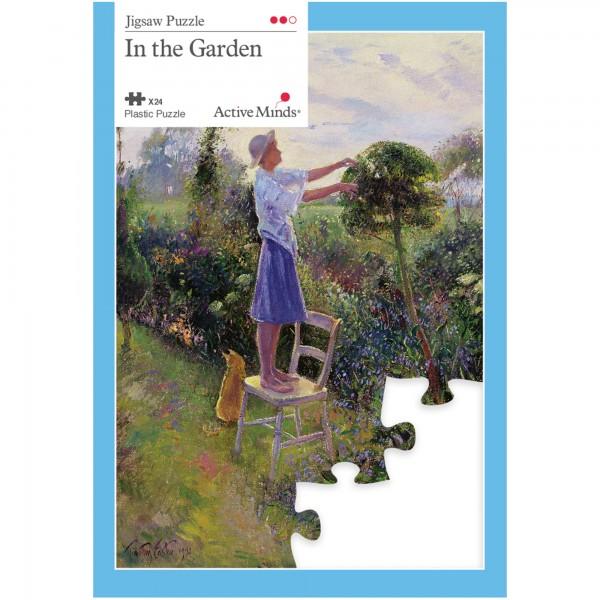 Im Garten - 24 Teile Puzzle