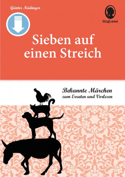 """Märchen für Senioren. """"Rumpelstilzchen"""" u.v.m. (PDF) Titel"""