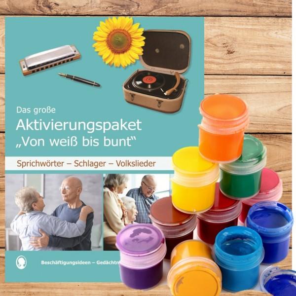 Gedächtnistraining Senioren Farben