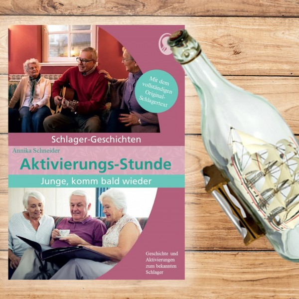 """Aktivierungs-Stunde """"Tulpen aus Amsterdam"""" - Schlager-Geschichte für Senioren"""