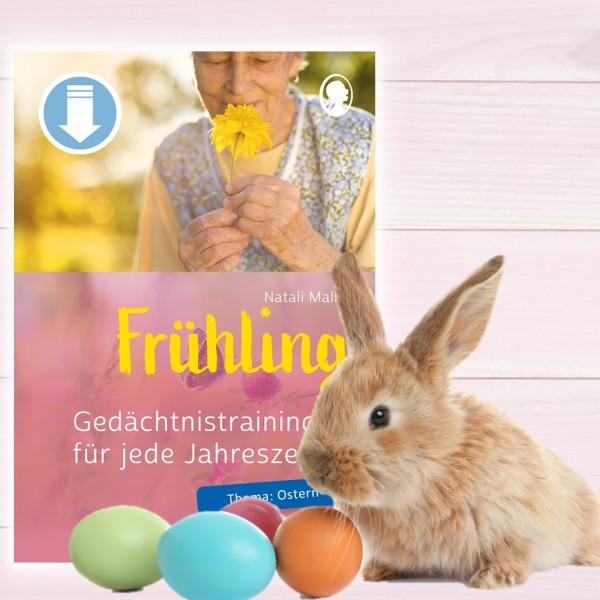 Gedächtnistraining Senioren Frühling Ostern