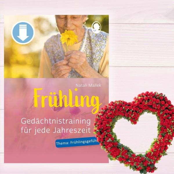 Gedächtnistraining für jede Jahreszeit Frühling - Frühlingsgefühle (Sofort-Download als PDF) Titel