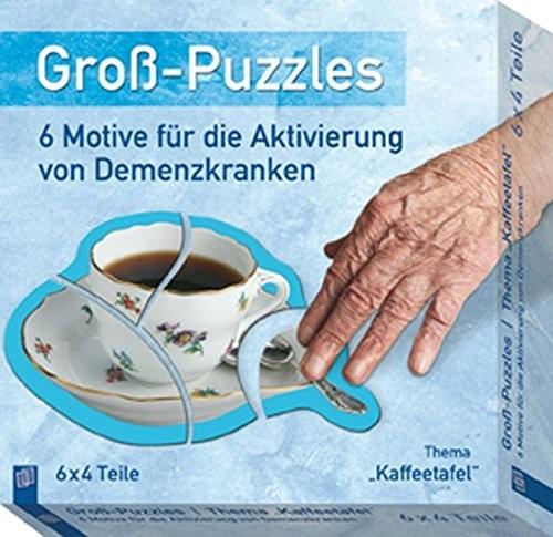 "Groß-Puzzles - Thema ""Kaffeetafel"""