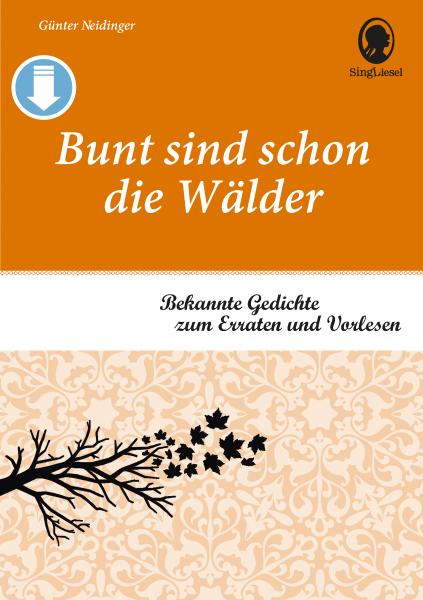 Gedichte für Senioren - Band 3 (Sofort-Download als PDF)