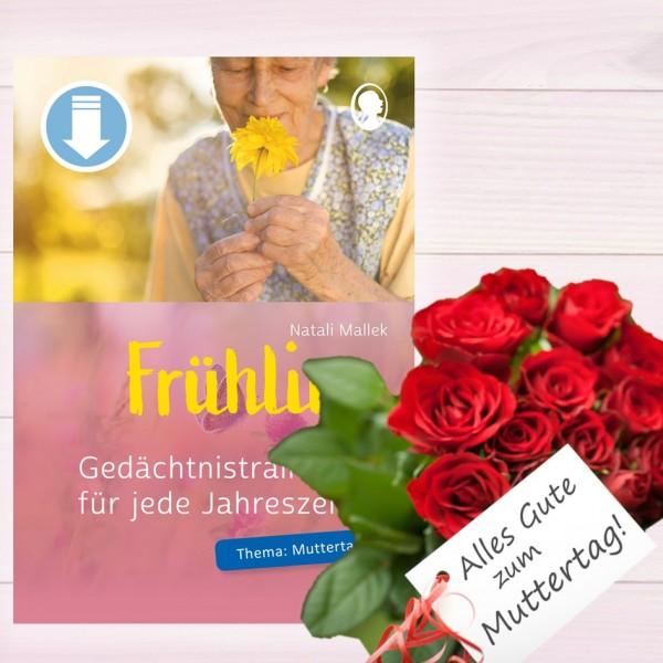 Gedächtnistraining für jede Jahreszeit Frühling - Muttertag (Sofort-Download als PDF) Titel