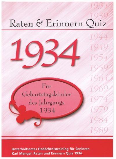 Jahrgangs-Quiz 1934