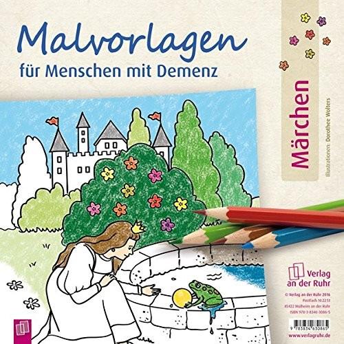 """Malvorlagen für Menschen mit Demenz - Thema """"Märchen"""""""