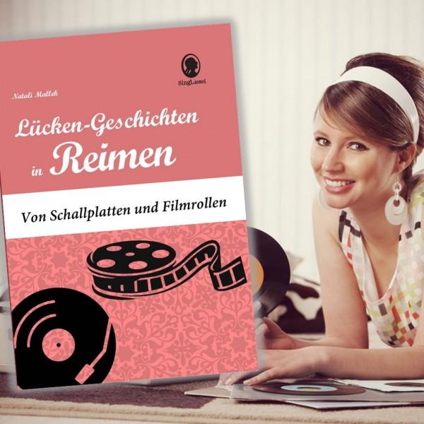 Lücken-Geschichten in Reimen. Kino. Musik. Für Senioren. Bild