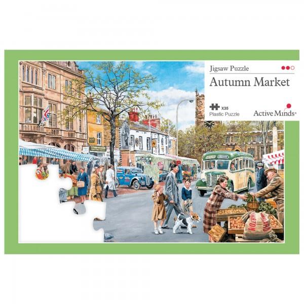 Herbstmarkt - 35 Teile Puzzle