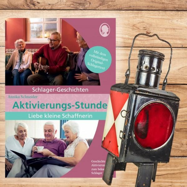 """Aktivierungs-Stunde """"Liebe kleine Schaffnerin"""" - Schlager-Geschichte für Senioren"""