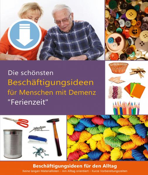 Ferienzeit - Aktivierungspaket bei Demenz (Sofort-Download als PDF)