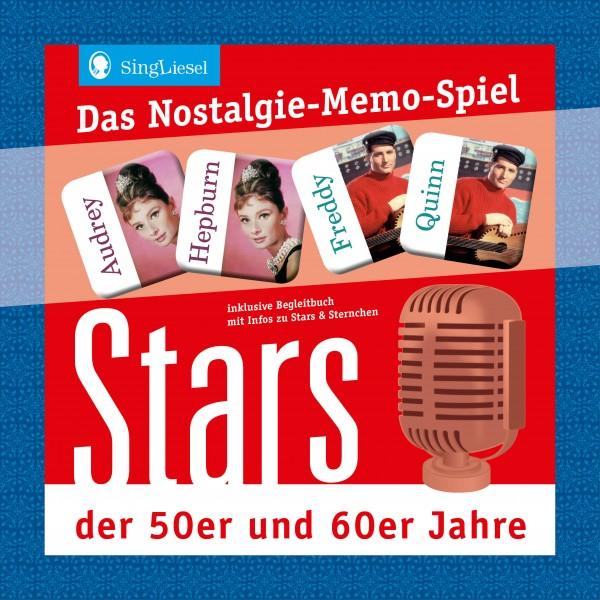Das Nostalgie-Memo-Spiel - Stars der 50er und 60er-Jahre