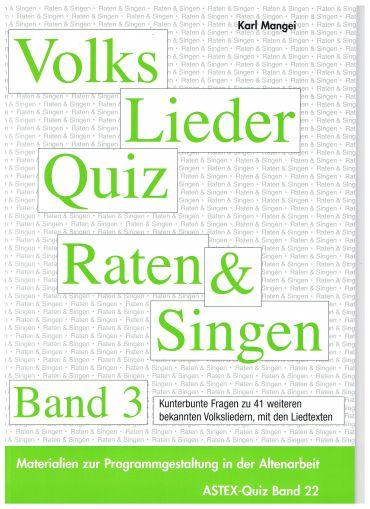 Volksliederquiz - Raten und Singen 3
