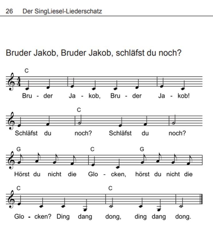 Volkslieder-mit-Noten-Bruder-Jakob