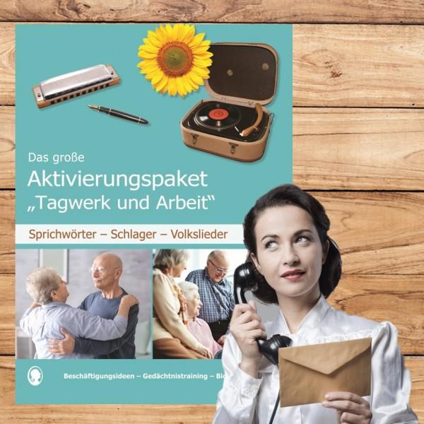 Gedächtnistraining Senioren Tagwerk und Arbeit Beruf