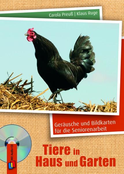 Geräusche-CD und Bildkarten - Tiere in Haus und Garten