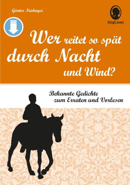 Gedichte für Senioren - Band 2 (Sofort-Download als PDF)