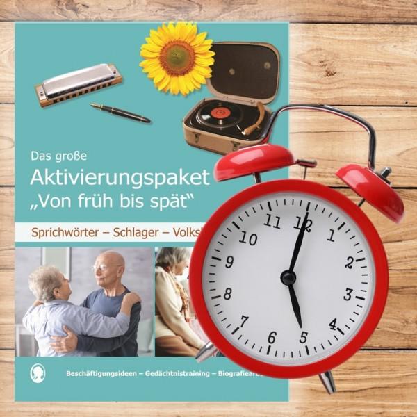 Gedächtnistraining Senioren Uhr Uhrzeiten
