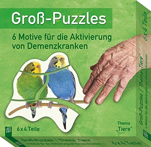 "Groß-Puzzles - Thema ""Tiere"""